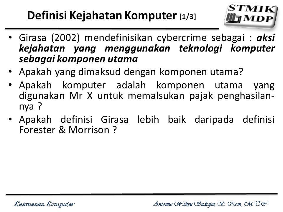 Definisi Kejahatan Komputer [1/3]